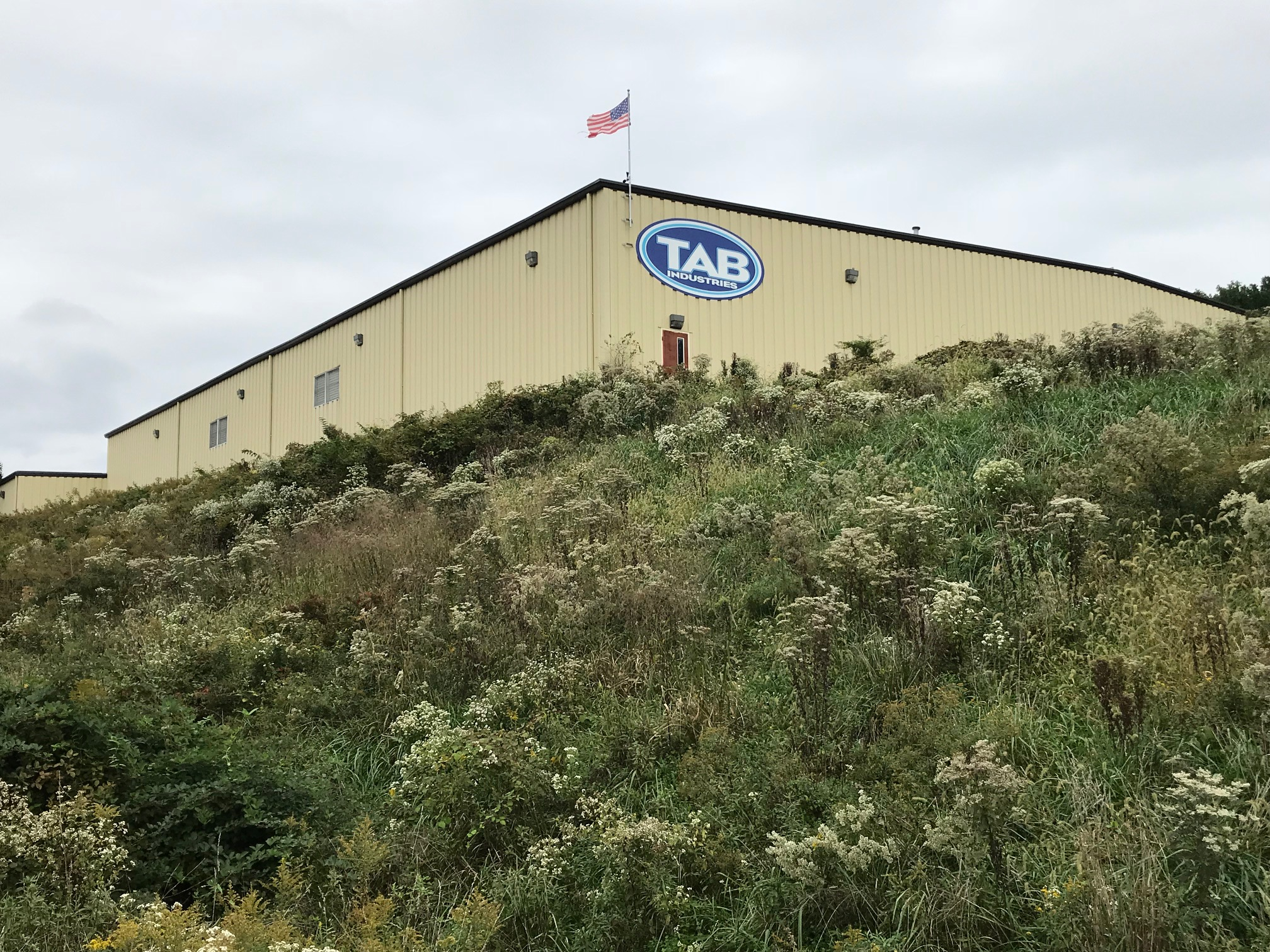 TAB Industries Facility Exterior, Reading, PA