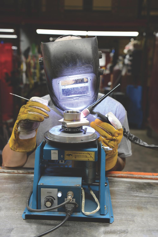 TAB Industries TIG Welding