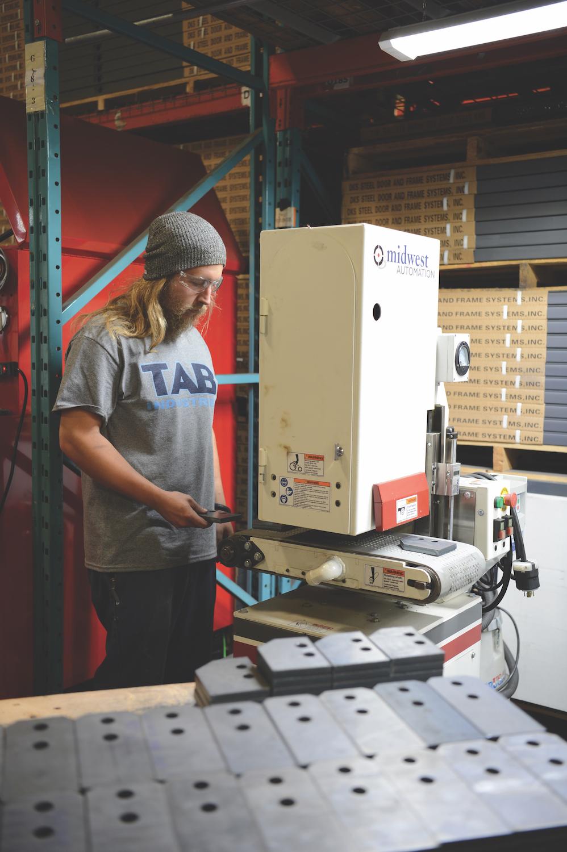 TAB Industries Machining Metal Parts