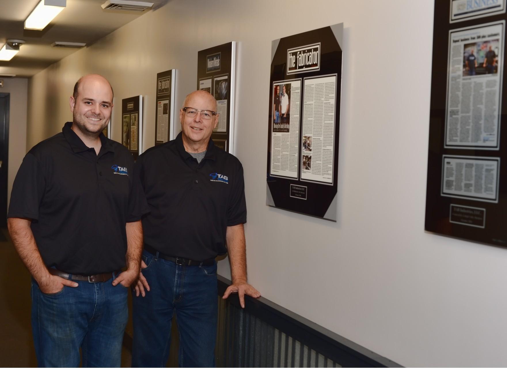 Andy Brizek and Tom Brizek of TAB Industries