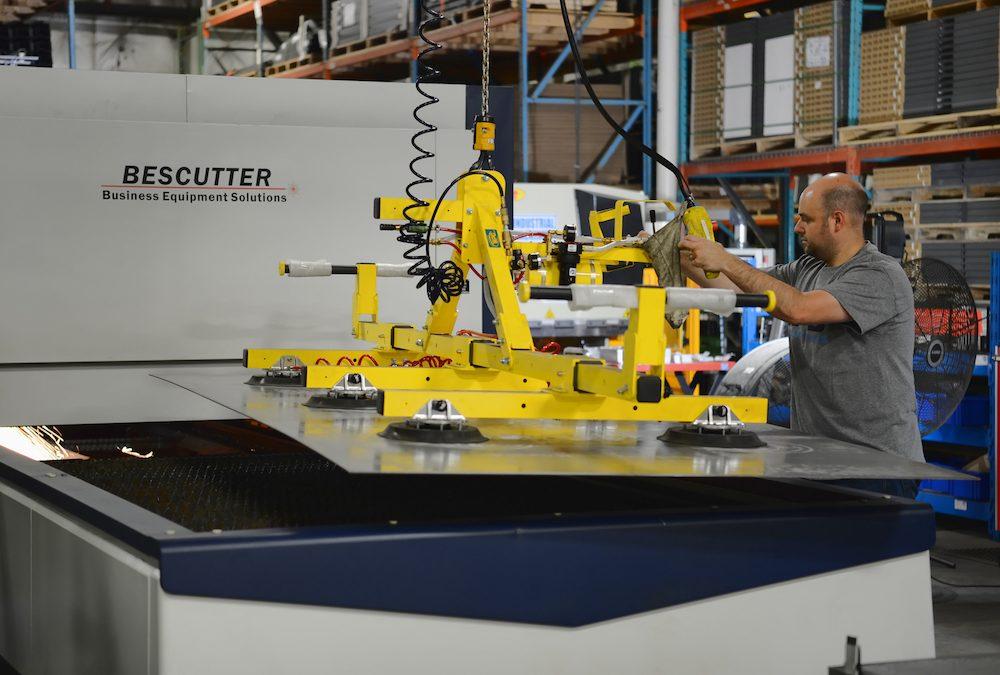 TAB Industries Installs New Laser Cutter