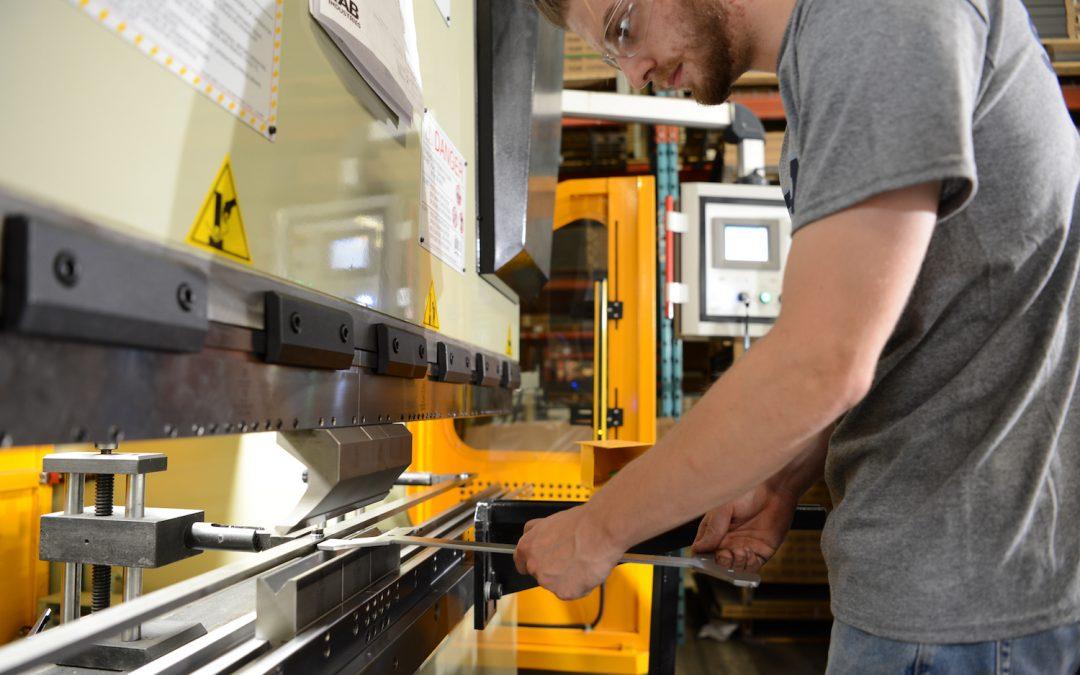 Press Brake at TAB Industries