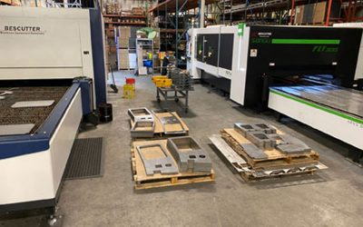 TAB Industries Installs Another New Laser Cutter